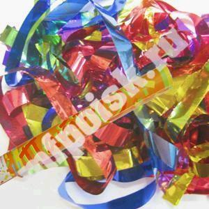 Пневмохлопушка (60см.) (8260-М) в пластиковой тубе фольг. конфетти