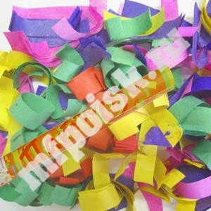Пневмохлопушка (60см.) (8260)  в пластиковой тубе, конфетти