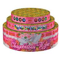 "Товар: Свадебный торт (0,8"";1"";1,2""х66) (РС908)"