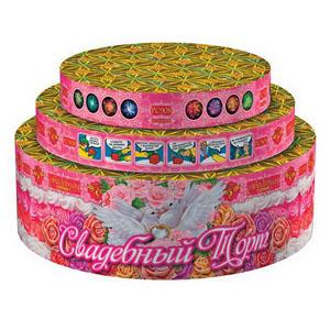 "Свадебный торт (0,8"";1"";1,2""х66) (РС9040)"